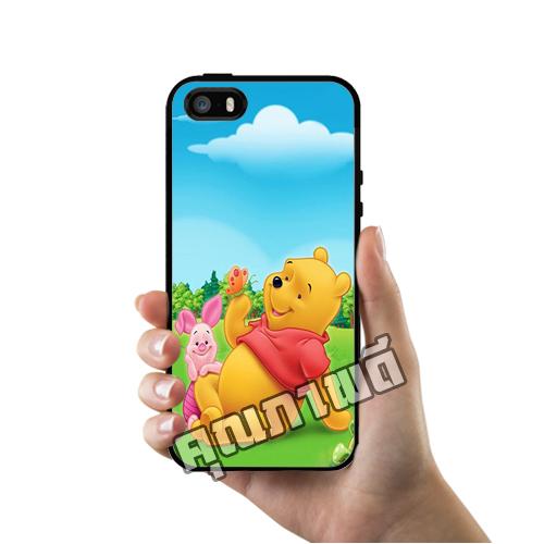 เคส ซัมซุง iPhone 5 5s SE หมีพูห์ พิกเลต ผีเสื้อ เคสน่ารักๆ เคสโทรศัพท์ เคสมือถือ #1228