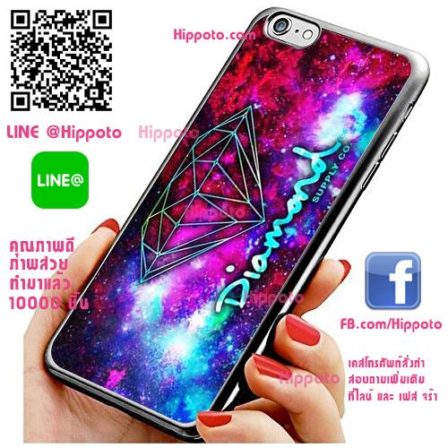 เคส ไอโฟน 6 / เคส ไอโฟน 6s โลโก้ Diamond เคสสวย เคสโทรศัพท์ #1160