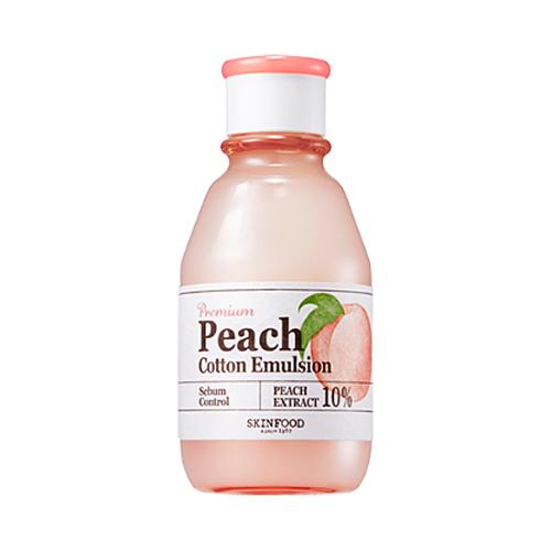 Skinfood Premium Peach Cotton Emulsion 140ml
