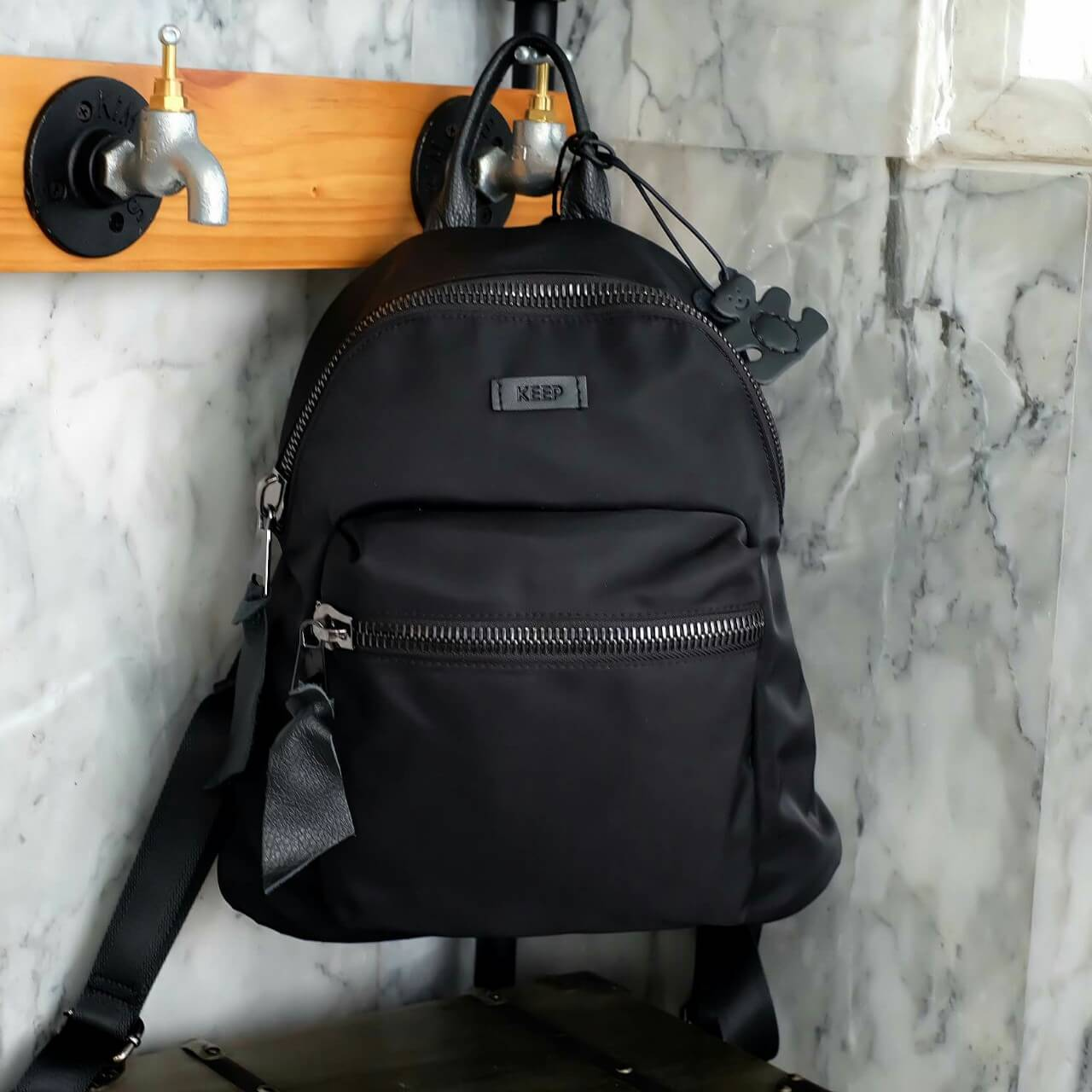 KEEP nylon backpack