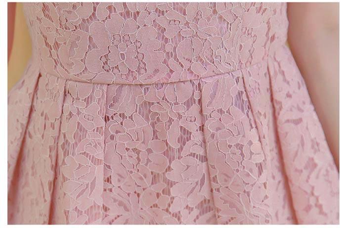 ชุดเดรสลูกไม้ ชุดผ้าลูกไม้สวยๆ น่ารักๆ แฟชั่นเกาหลี มีสีชมพู สีฟ้า สีแดง สีดำ สีเหลือง เดรสลูกไม้ ส่งฟรี EMS ส่งฟรี EMS แขนกุด ซิบหลัง มีซับใน ใส่สบายๆ เนื้อผ้าลูกไม้ Lace คณภาพดี ผ้ามีน้ำหนัก ทิ้งตัว