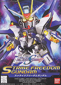 288 Strike Freedom Gundam (SD) (Gundam Model Kits