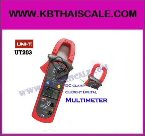 เครื่องมือวัด แคลมป์มิเตอร์ Clamp meter UNI-T UT203 วัดได้ทั้ง AC-DC