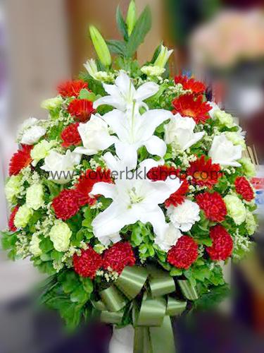 แจกันดอกไม้สด รหัส WVA03