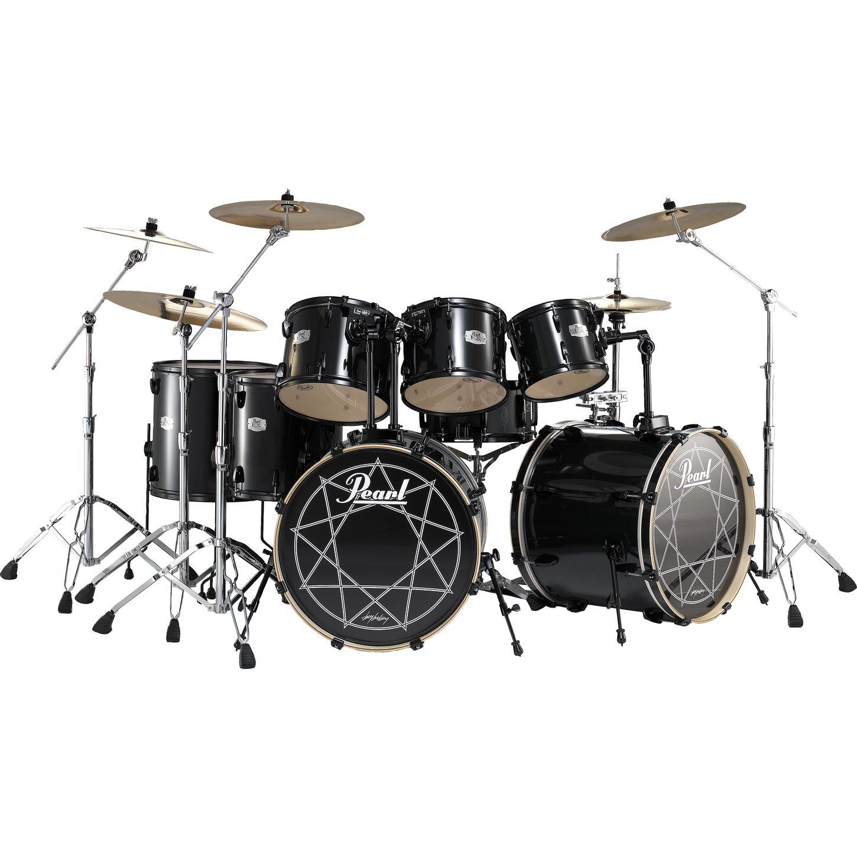 Pearl Joey Jordison ( Slipknot ) 7-Piece Double Bass Drum Set