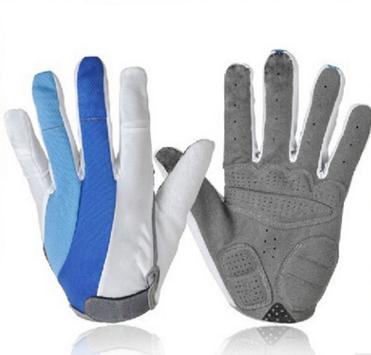 ถุงมือเจล ถุงมือจักรยาน เต็มนิ้ว BIKE303 M/L/XL