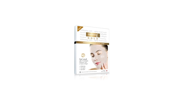 Pre-order : SME GOLD WHITENING & ANTI-AGING FACIAL MASK
