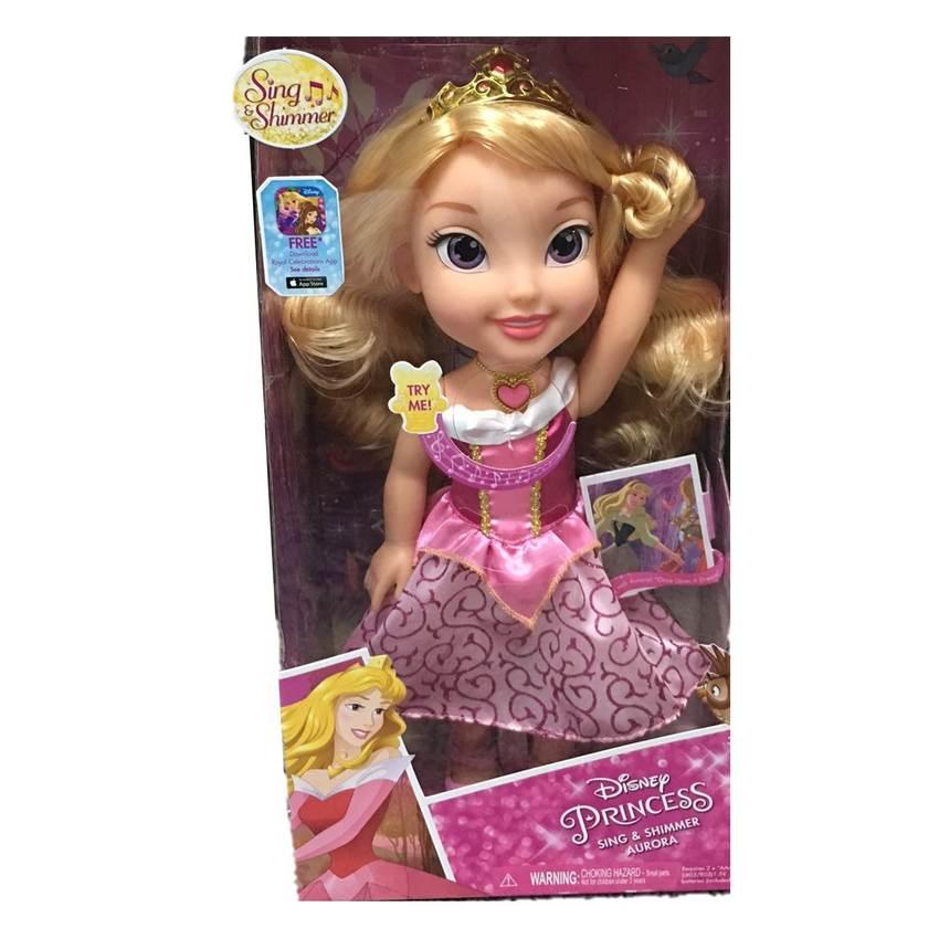 Disney Princessตุ๊กตาAurora Doll Sing And Shimmer