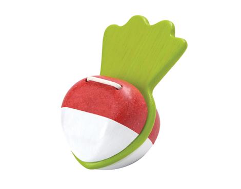 ของเล่นไม้ ของเล่นเด็ก ของเล่นเสริมพัฒนาการ Beetroot Clapper