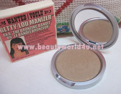 The balm Betty-Lou Manizer bronzer