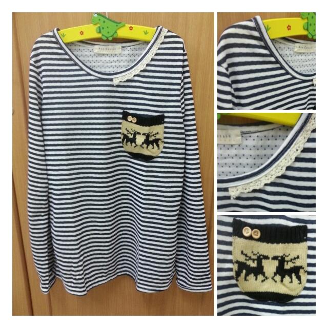 เสื้อวินเทจสไตล์ญี่ปุ่น