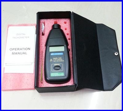 เครื่องวัดความเร็วรอบ เครื่องวัดรอบ มิเตอร์วัดความเร็วรอบ มิเตอร์วัดรอบ Digital laser Tachometer RPM meter