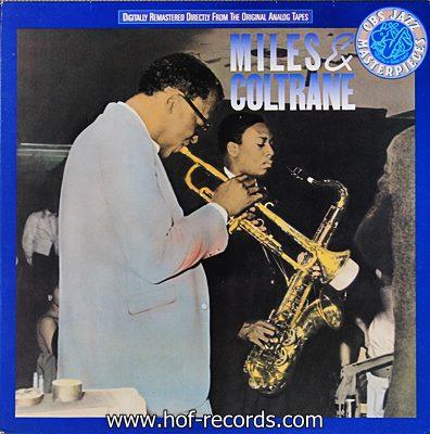 Miles Davis - Miles & Coltrane 1lp