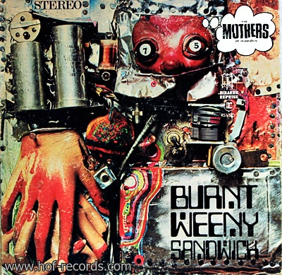 Burnt Weeny Sandwich - The Mothers 1Lp 1969