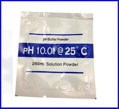 ผงสำหรับละลายน้ำเตรียม calibration buffer PH 10.00 สำหรับเครื่องวัด pH