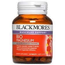 Blackmores Bio Magnesium 50 เม็ด