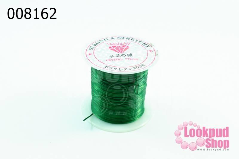 เอ็นยืด สีเขียว ม้วนเล็ก (1ม้วน/10หลา)