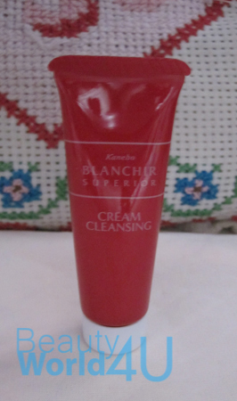 kanebo blanchir Superior cream cleansing 15 g. (ขนาดทดลอง)