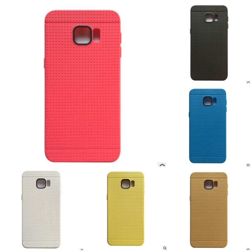 เคส Samsung S6 Edge Plus ซิลิโคน soft case ปกป้องตัวเครื่อง ลาย Dot สวยงาม ราคาถูก