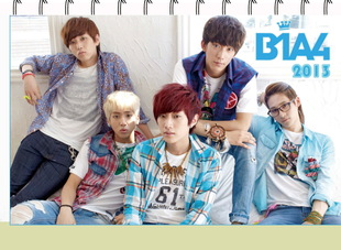 ปฏิทิน 2013 B1A4