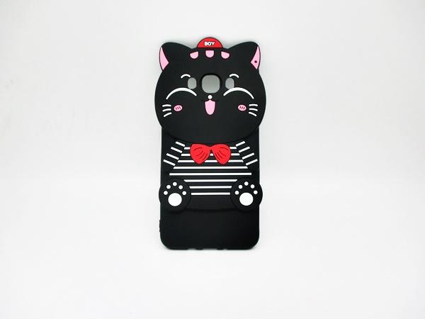 ซัมซุง J2 เคสยาง 3Dแมวดำ