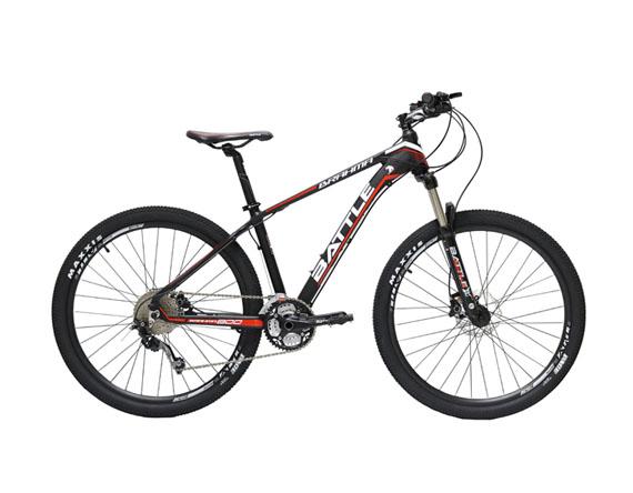 จักรยานเสือภูเขา BATTLE BRAHMA 800 27.5″ MTB DEORE 30 สปีด ดิสน้ำมัน 2017 โช๊ครีโมท