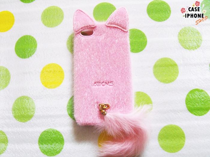 เคสแมวขนนุ่มไอโฟน 4/4s