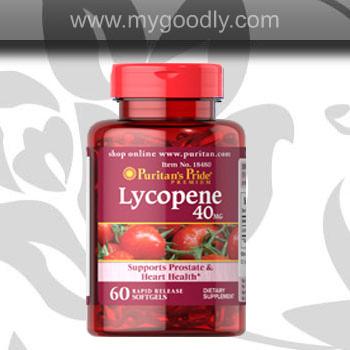 Lycopene 40 mg ไลโคปีน สารสกัดจากมะเขือเทศเข้มข้น Puritan's Pride ขอแท้ราคาส่ง 900 บาท