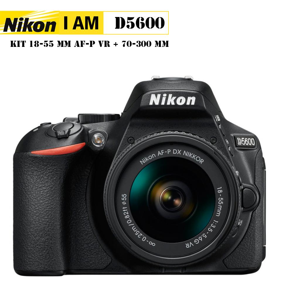 Nikon D5600+AF-P 18-55 VR (แถมฟรีฟิล์มกันรอย+SD 16GB)