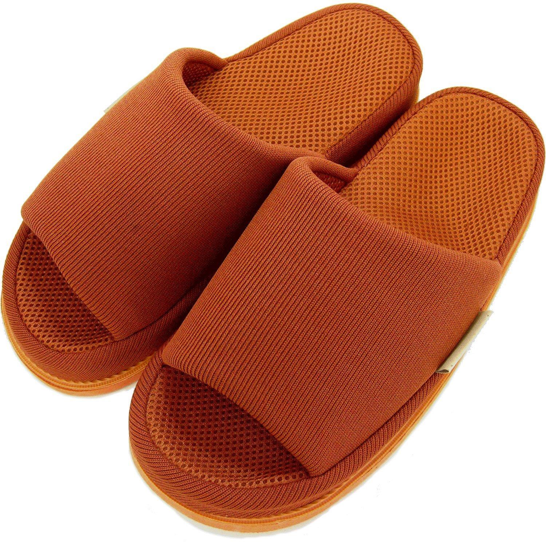 Refre OKUMURA Slippers สีน้ำตาลแดง-ผู้ชาย (L) รองเท้าแตะเพื่อสุขภาพ