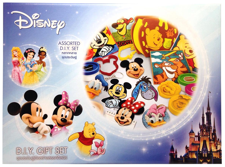 ชุดของขวัญมิกกี้และหมีพู (Disney Mickey and Pooh DIY Gift Set)