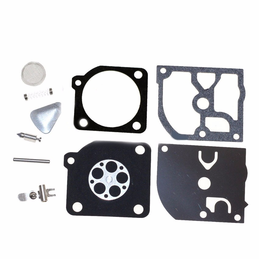 Carb carburetor rebuild kit for Jonsered 2041 2045 2050 RS44 Husqvarna 45 49 51 55 trimmers 240R 245R Chain saw Zama RB-45