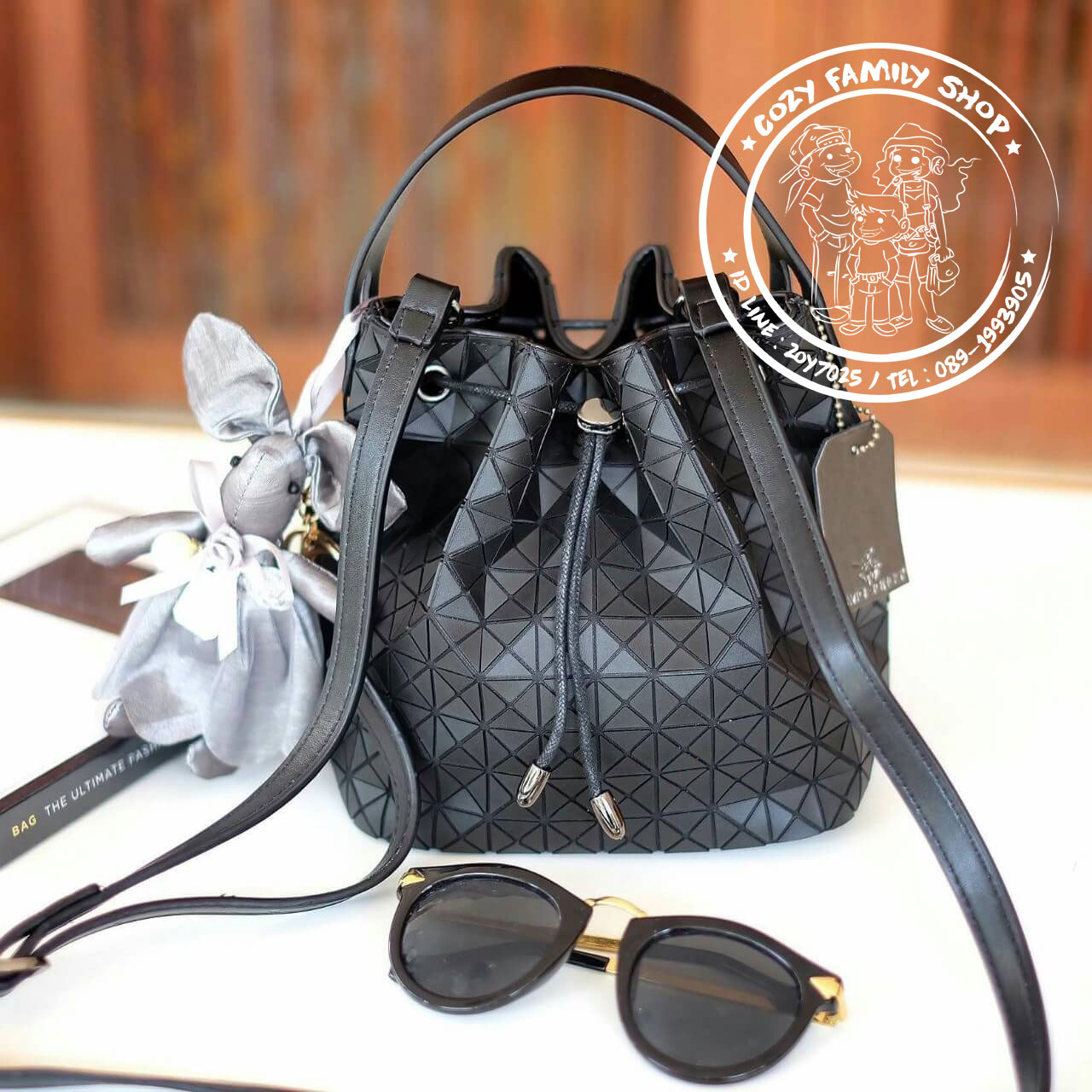 David Jones Bucket Leather ( Bag )