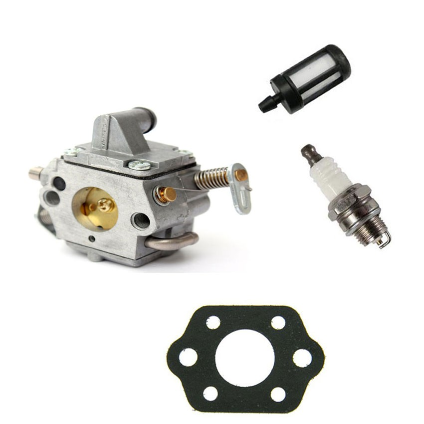 Chainsaw parts Caruretor Carb for STIHL 017 018 MS170 MS180 Chain saw W Fuel filter Gasket