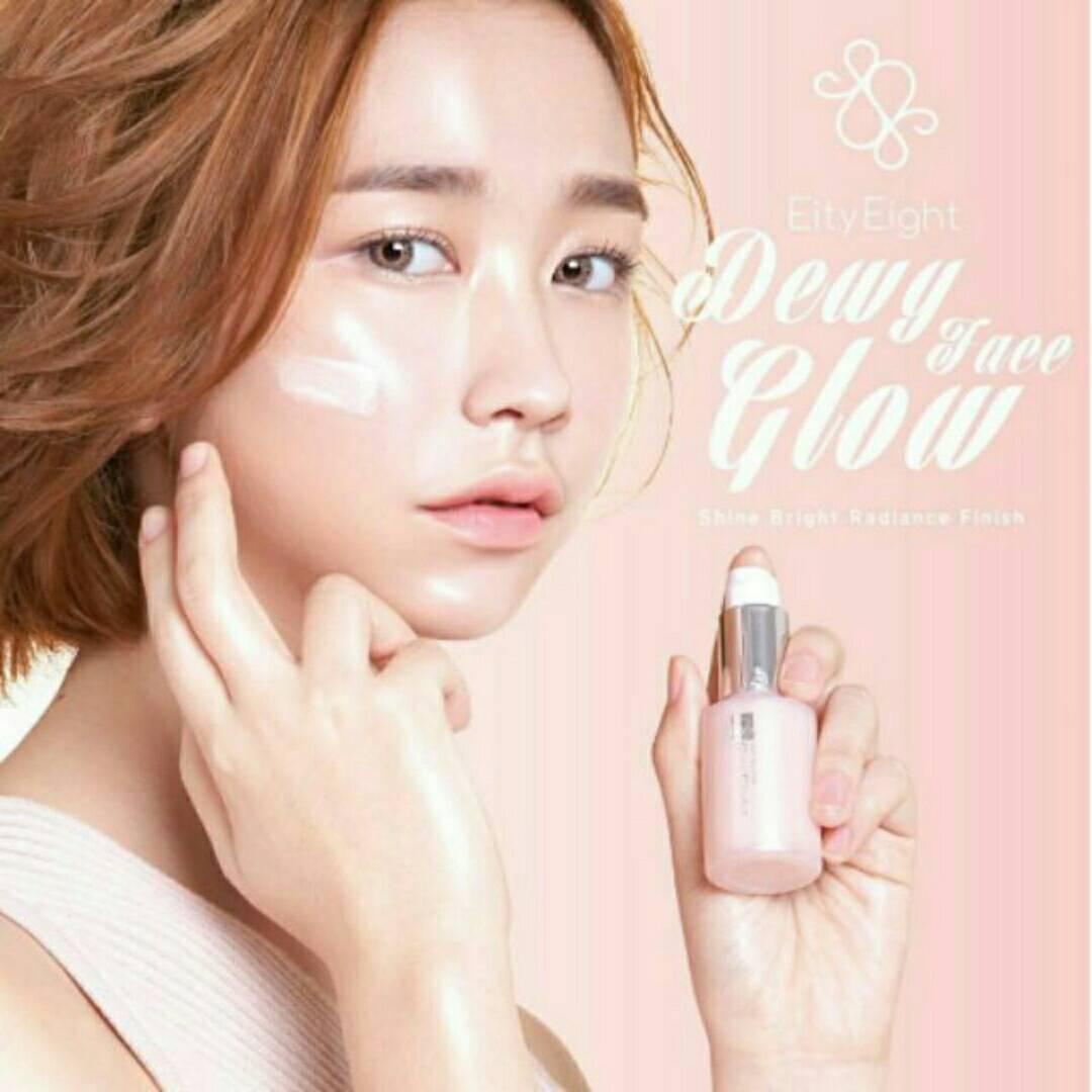 Dewy Face Glow By Eity Eight เบสหน้าวาวเพื่อผิวหน้าสว่างใสมีออร่า ฉ่ำวาวสไตล์เกาหลี ปริมาณ 20 มล.