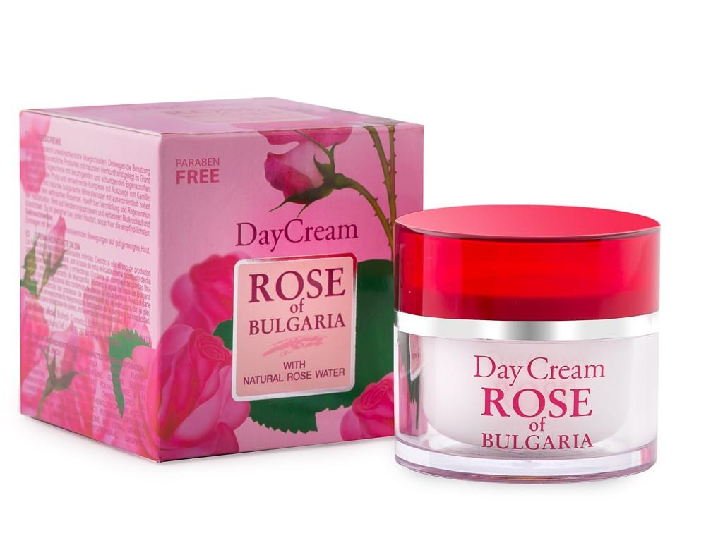 Rose of Bulgaria Day Cream ครีมกุหลาบบัลแกเรียสำหรับกลางวัน 50ml.