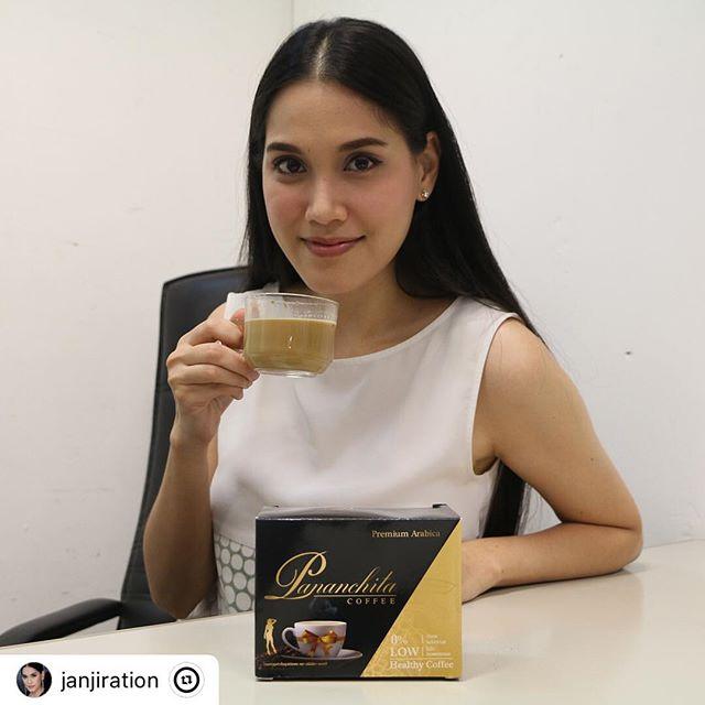 Pananchita coffee กาแฟอาราบิก้า ลดรอบเอว ลดน้ำหนัก กระปรี้กระเปร่า ผิวกระชับเต่งตึง