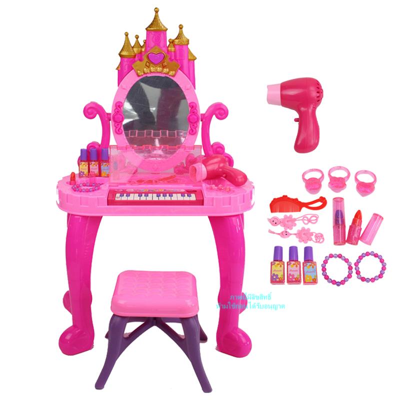 โต๊ะเครื่องแป้งเจ้าหญิงพร้อมเปียโน Piano Vanity