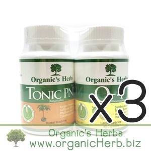 (ซื้อ3 ราคาพิเศษ) Tonic PNP 60 เม็ด + O-4 Organic's Herbs 60 เม็ด อิ่มท้อง ลดน้ำหนัก กระชับสัดส่วน ล้างลำไส้ ขับไขมัน ทั้งเก่าและใหม่ ระบายไม่มวนท้อง