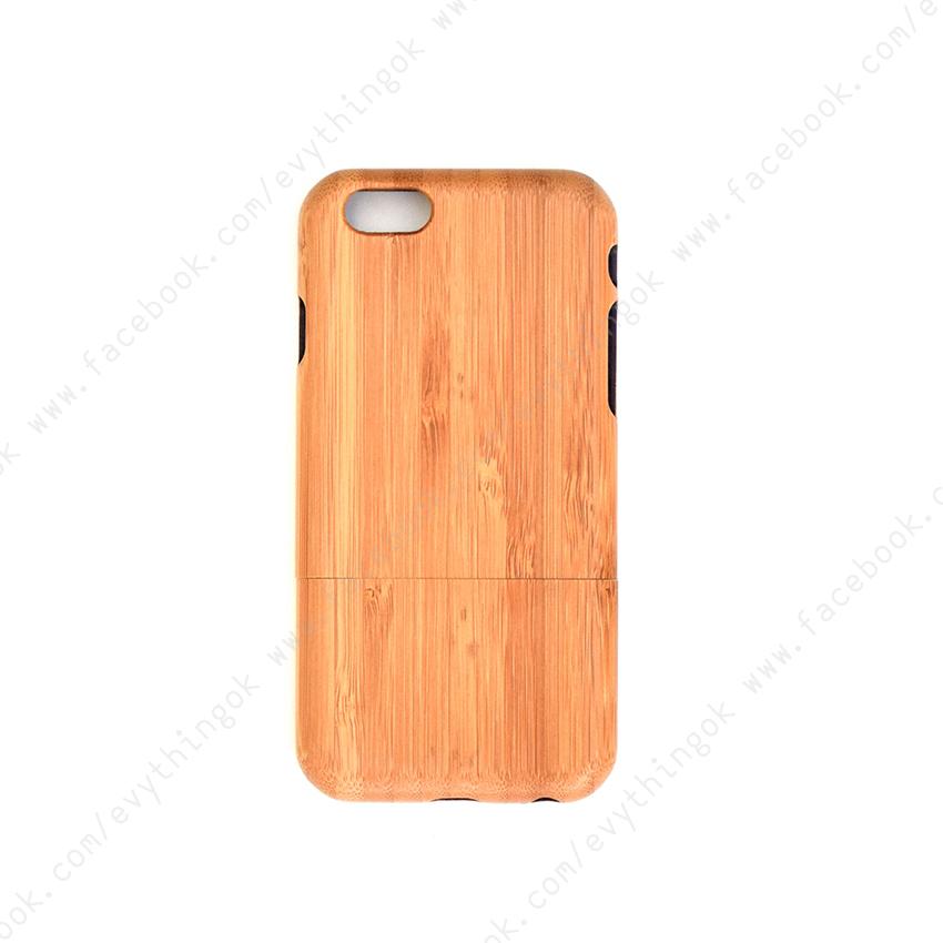 เคสไม้แท้ iPhone 6/6s ไม้ไผ่