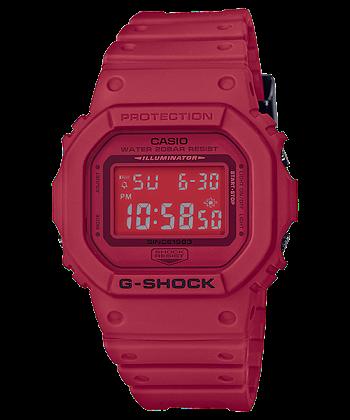 นาฬิกา Casio G-Shock 35th Anniversary Limited RED OUT 3rd series รุ่น DW-5635C-4 ของแท้ รับประกันศูนย์ 1 ปี