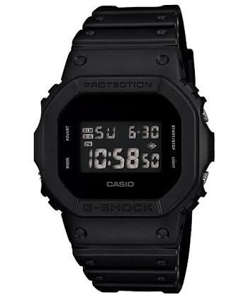 นาฬิกา CASIO G-SHOCK รุ่น DW-5600BB-1 BLACK OUT BASIC SERIES ของแท้ รับประกัน 1 ปี
