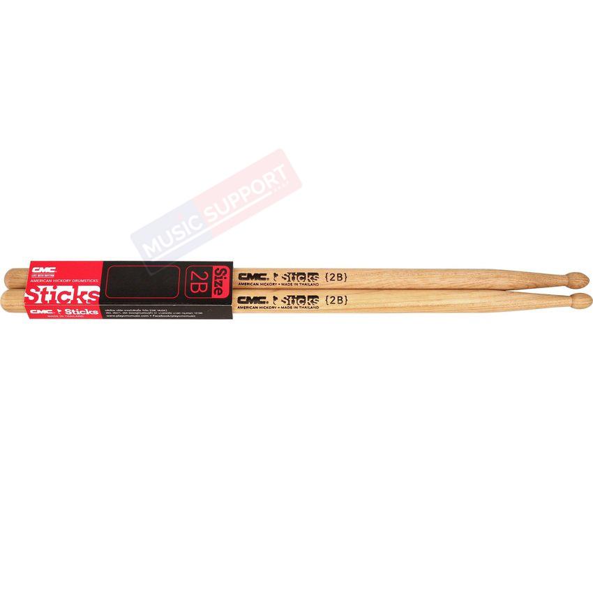 ไม้กลอง CMC Stick 2B [American Hickory]