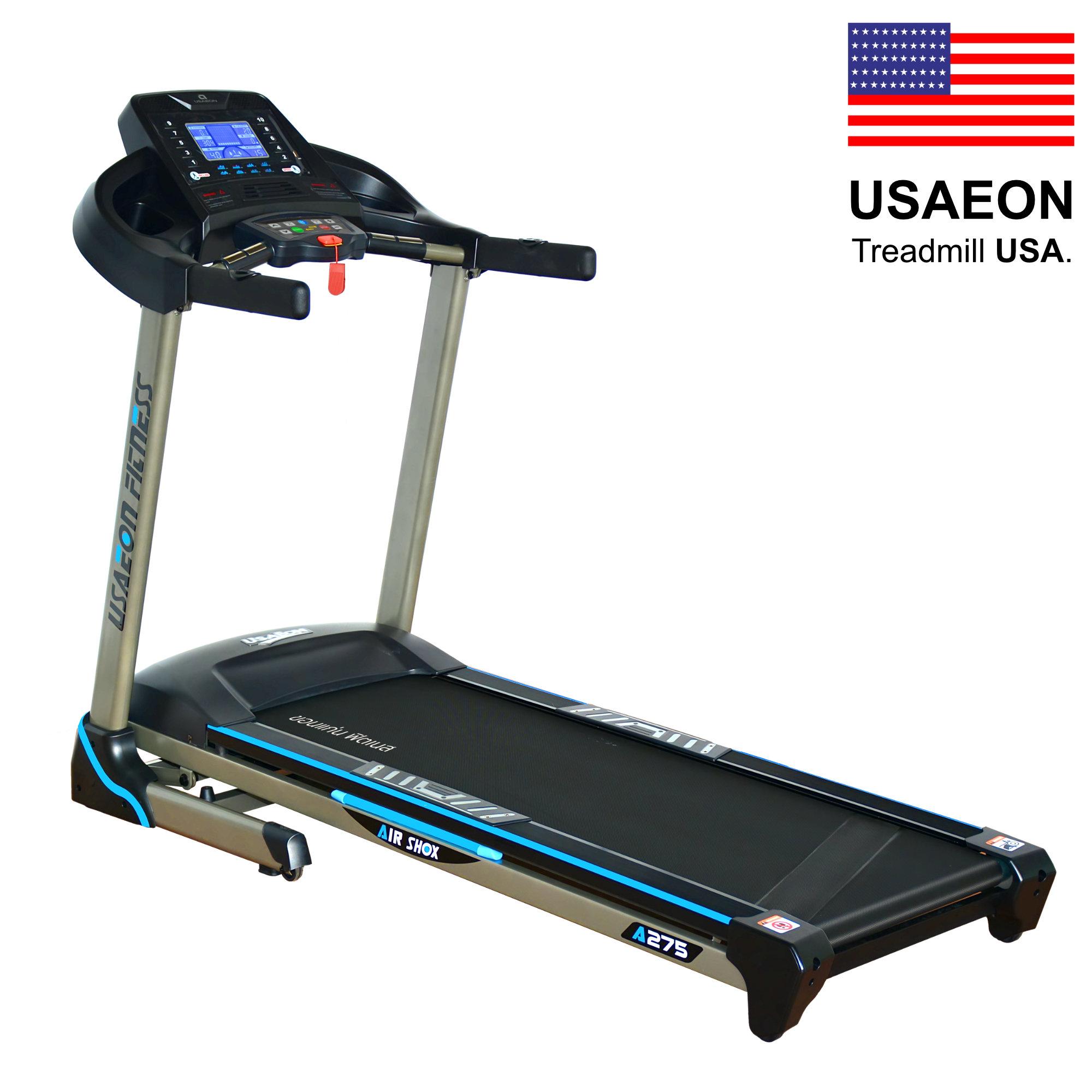 ลู่วิ่งไฟฟ้า : USAEON Fitness A275 - 3.0 HP (DC)