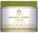 ฟื้นฟูผิวแห้งเสียขาดการบำรุง Manuka Honey Cream With Royal Jelly 4 oz (113 g.)