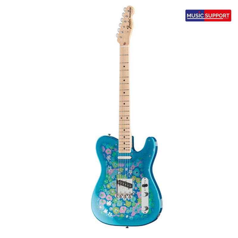 Fender JAPAN CLASSIC 69 TELE BLUE FLOWER W GIG