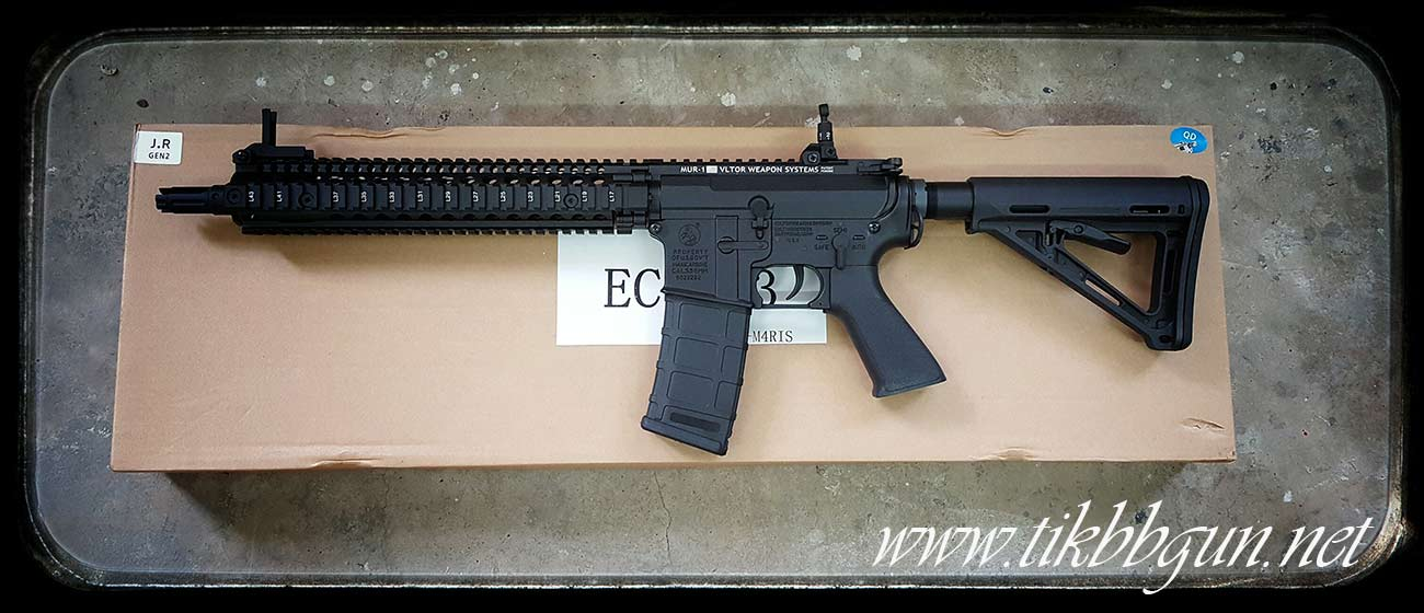 ปืนอัดลมไฟฟ้า M4 จาก E & C รุ่น 833S