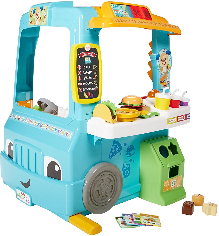 ฟู้ดทรัก Fisher-Price Laugh & Learn Servin' Up Fun Food Truck ของเล่นแนวใหม่ที่คุณจะหลงรักทั้งครอบครัว