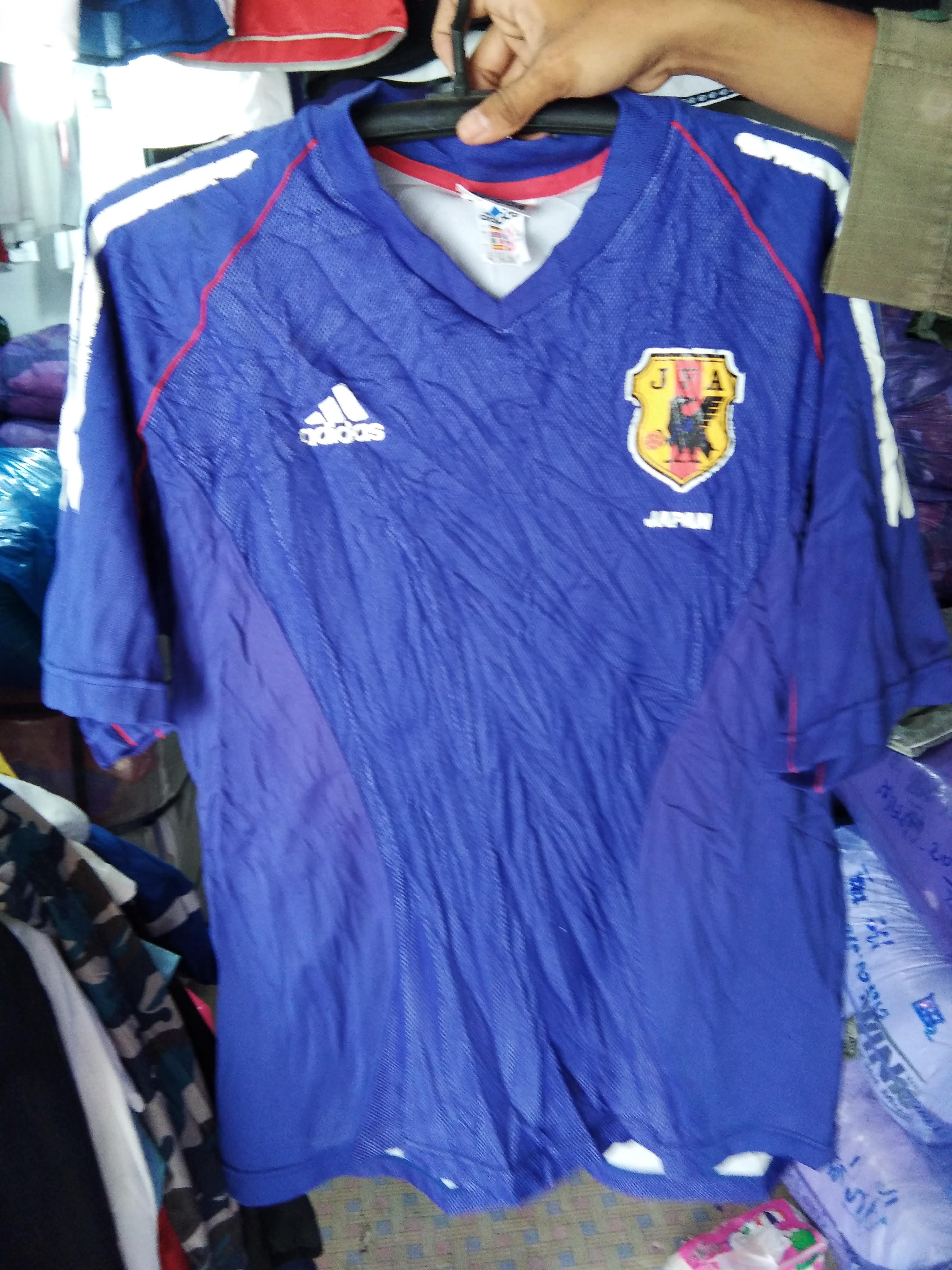 เสื้อทีมชาติ ญี่ปุ่น ฟุตบอลโลก มือสอง งานคัด Adidas
