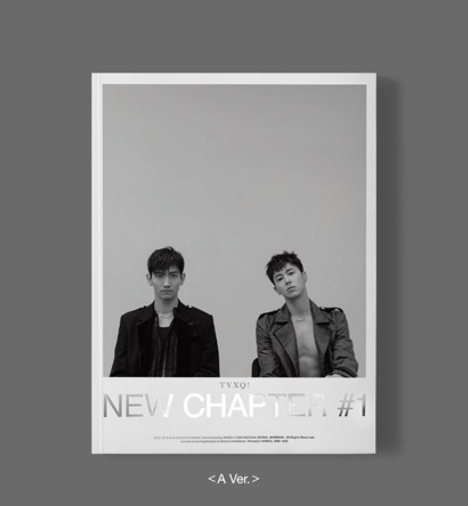 TVXQ! - Album Vol.8 [New Chapter #1 : The Chance of Love] แบบ ver. A